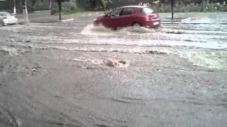 Потоп в Артемовске 10.07.15