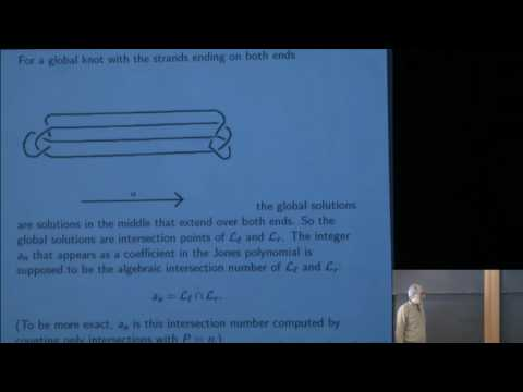 From Gauge Theory to Khovanov Homology Via Floer Theory - Edward Witten