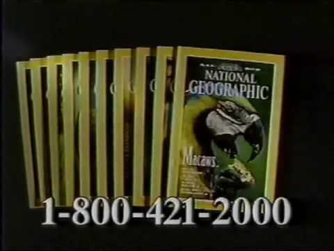 National Geographic Magazine Commercial (1995)