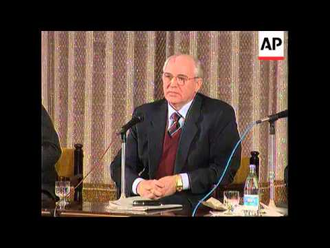 Russia - Gorbachev Addresses Moscow Intelligentsia