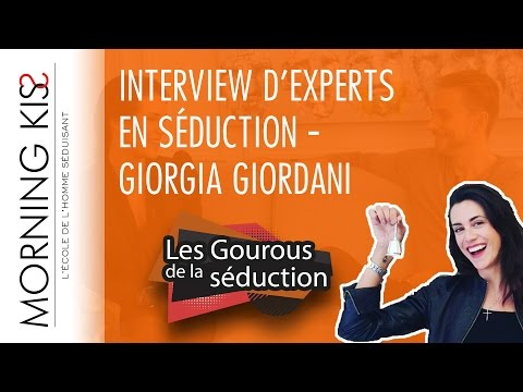 Giorgia Giordani, grands dîners pour célibataires | INTERVIEW SEDUCTION