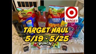 TARGET HAUL 5/19 - 5/25 | CHEAP SUNSCREEN, FOOD & MORE!