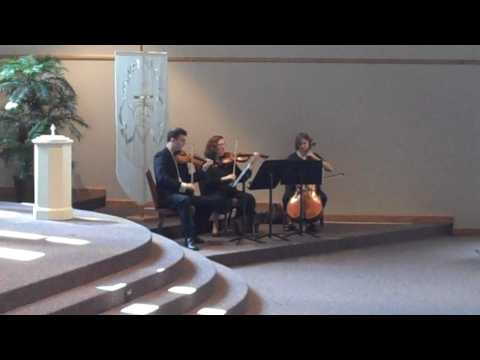 """Spring from """"The Four Seasons"""" by Vivaldi for String Trio"""