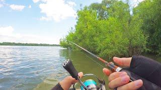 Вот это рыбалка ТАКИЕ ПОКЛЁВКИ НАДО ВИДЕТЬ Ловля язя на воблер кренк