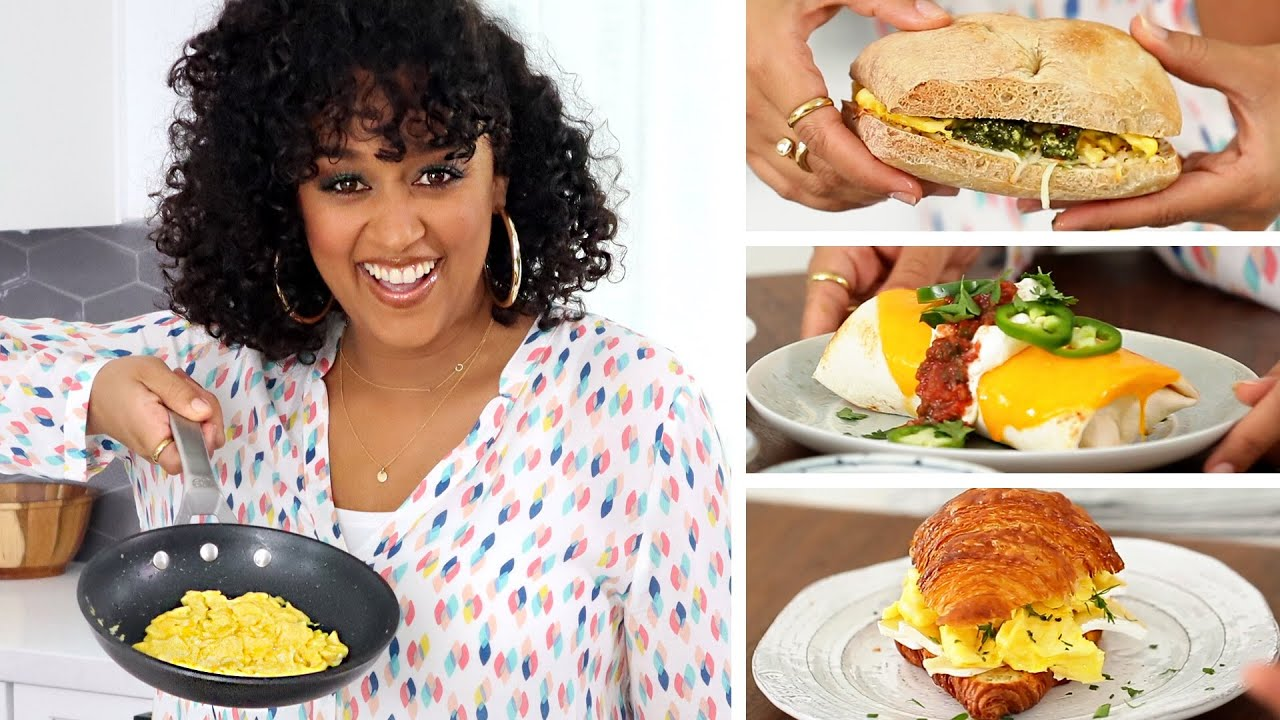 NEWFACE MAGAZINE LV MEDIA FEATURING:  It's not your boring  SCRAMBLE EGGS!