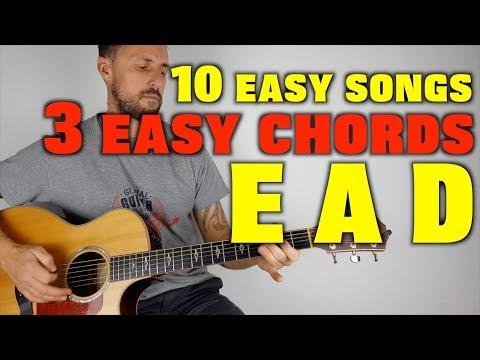 10 Easy Songs 3 Easy Chords E A D