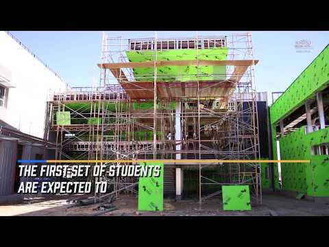 Hart School District Gives Tour Of Castaic High School Construction Site - KHTS News - Santa Clarita