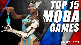 Top 15 Best MΟBA Games - March 2021 Selection
