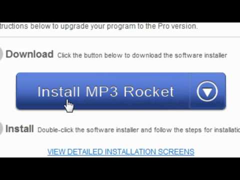How To Get Mp3 Rocket 6.2 PRO