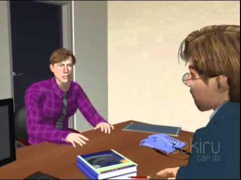 German - Intermediate :A job interview