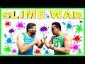 SLIME RACE & GAMES Challenge!  DADDY SILVA VS. DADDY TUBE...EPIC YULU CHALLENGE