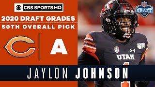 The Bears receive an IMPACTFUL player in Jaylon Johnson with the 50th overall pick | 2020 NFL Draft