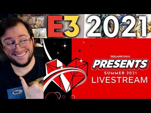 "Gor's ""Square Enix Presents Summer Showcase"" E3 2021 REACTION"
