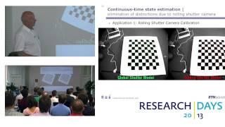 Small Flying Robots and Visual Navigation