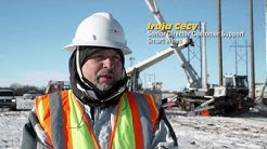 Minnesota Power Smart Wires PowerLine Guardian® Installation - - Little Falls, MN