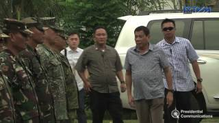 Situation Briefing at the Philippine Army's 9th Infantry Division (9ID)