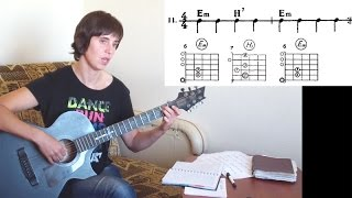 №9. Последовательности аккордов 11-20 для гитары для начинающих. Уроки игры на гитаре