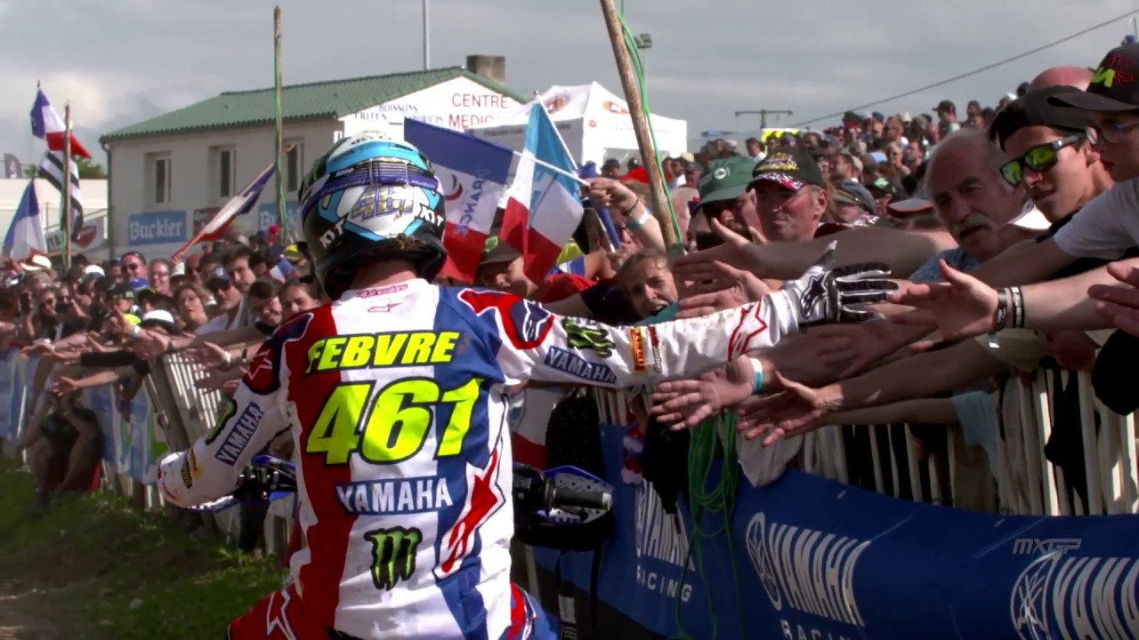 Voilà the French atmosphere   MXGP of France 2018   Saint Jean d'Angely #motocross