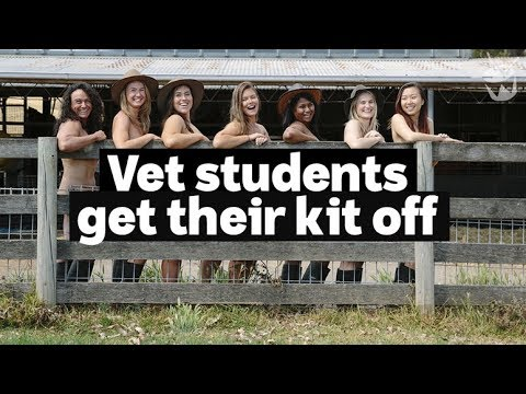 HACK: University of Sydney's annual nude charity calendar