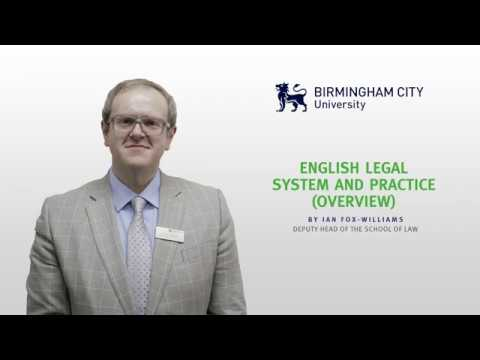 English Legal System and Practice (Overview)
