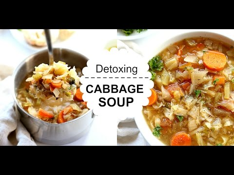 Cabbage Soup Diet Recipe In Spicy Miso Broth - Healthy, Detoxing and Delicious!