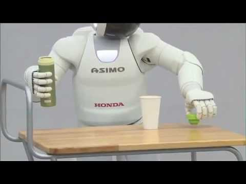 Robot Humanoide Honda Humanoid Robots Youtube