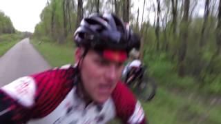 One Legged Fat Bike Hill Challenge