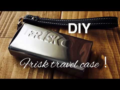 Frisk缶をトラベルケースに!