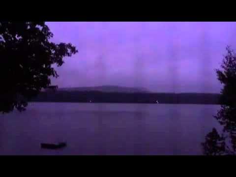 Crystal Lake Lightning Strike in Gilmanton Ironworks, NH ...
