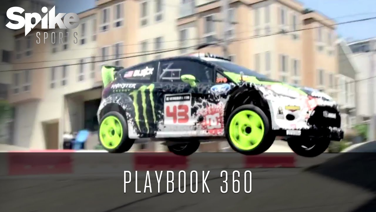 Ken Block: Rally Driver - Playbook 360 - YouTube