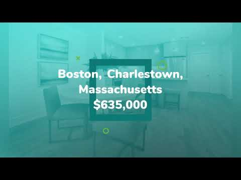 House for sale in Boston, Charlestown, $635,000