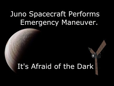 Why The Juno Spacecraft is Afraid of the Dark