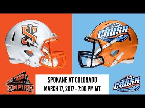 Week 5 | Spokane Empire at Colorado Crush