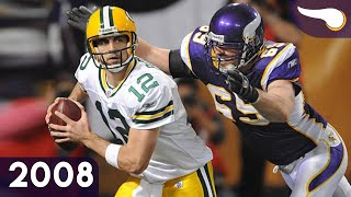 Jared Does The Safety Dance - Packers vs. Vikings (Week 10, 2008) Classic Highlights