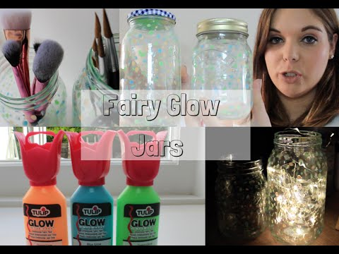 Fairy Glow Jars Tutorial | Emma Mumford