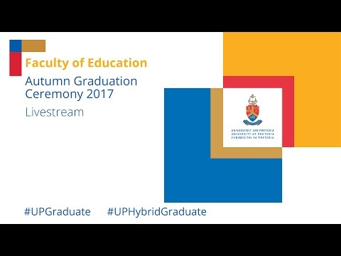 Faculty of Education Graduation Ceremony 2017, 9 May 10 00 in HD