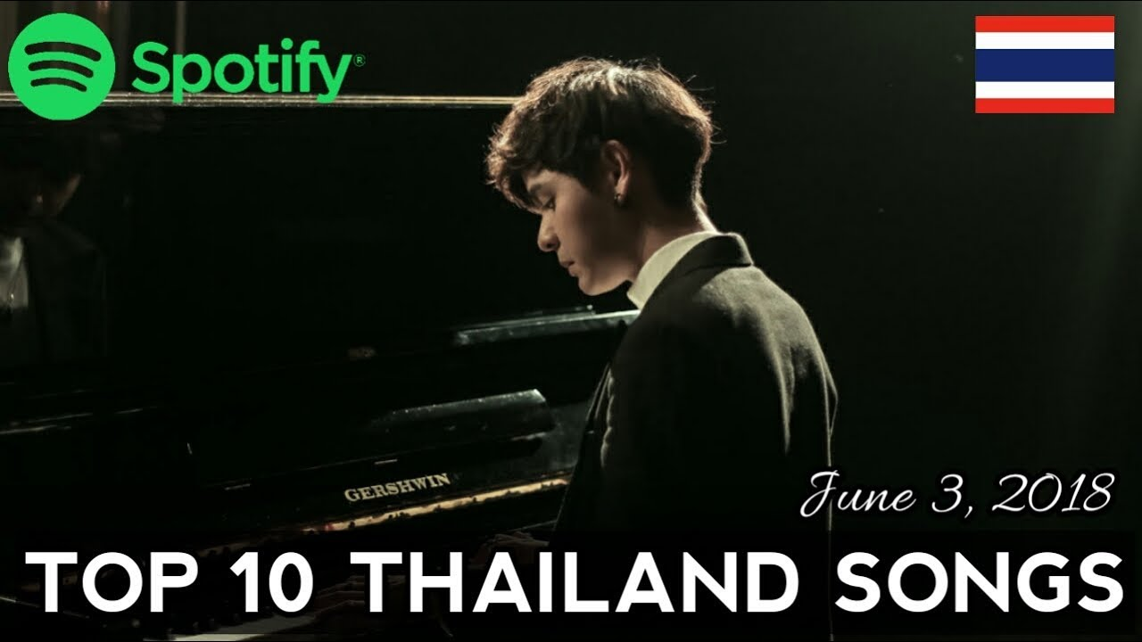 Spotify Top 10 Thailand Songs - June 3, 2018