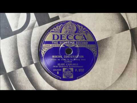 "Elsie Carlisle - ""Making Conversation"" (1933)"