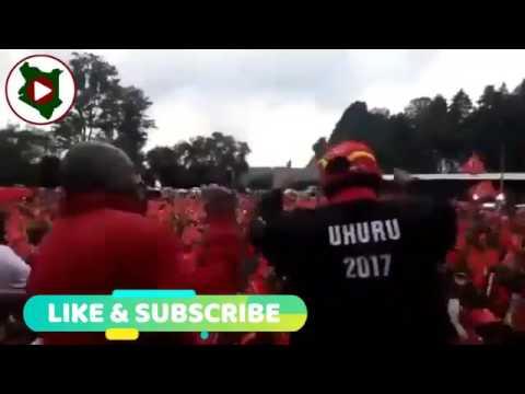 Uhuru DANCING to a Kalenjin Song is a MUST watch