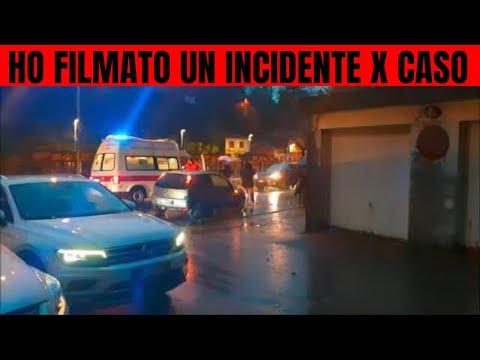 HO FILMATO PER CASO UN INCIDENTE STRADALE -CHE BRUTTO POMERIGGIO -