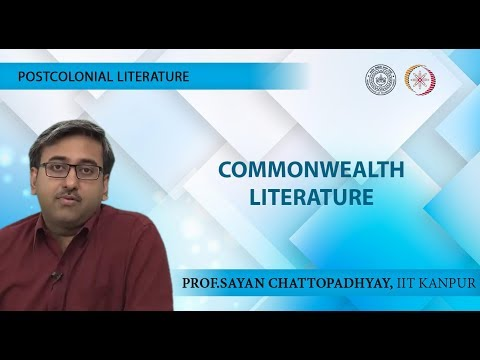 Lecture 02 - Commonwealth Literature