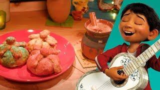 Pan de Muerto & Hot Chocolate | Disney Family