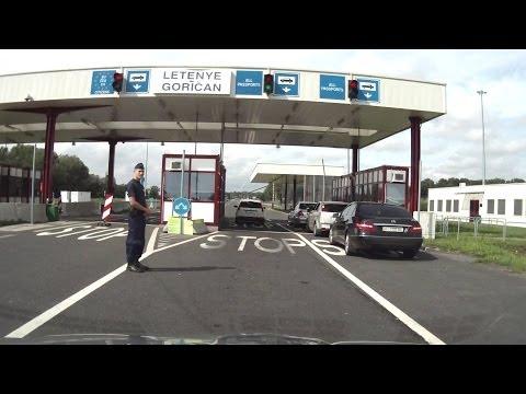 Chorvatsko 2013 - přes Maďarsko, tunel Sv. Ilija, Brela