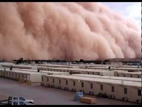 Senegal extreme weather, Dakar storm, mud storm in West Africa
