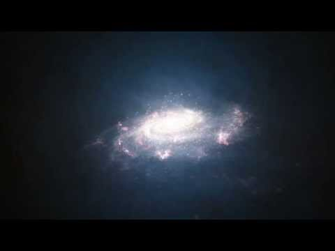 Probing a galactic halo with Hubble & Animation of a starburst galaxy WWW.GOODNEWS.WS