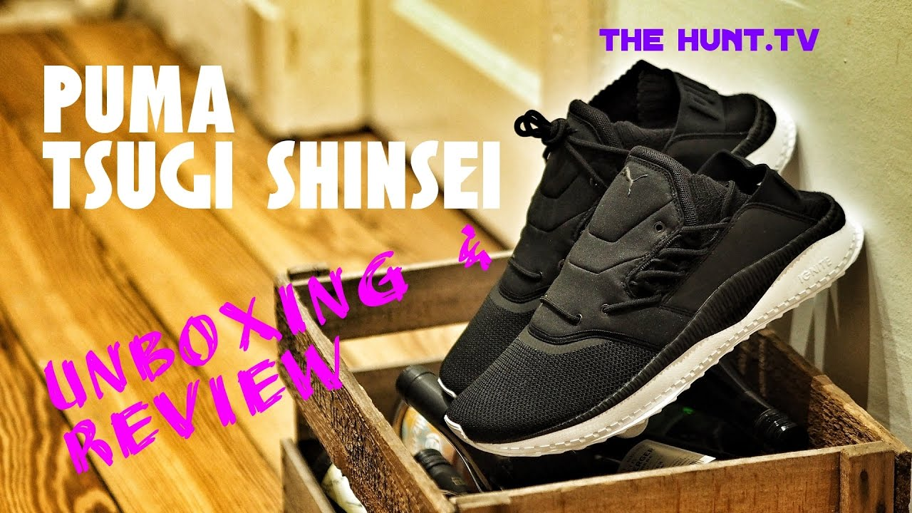 dc16661786157d Puma Tsugi Shinsei Unboxing and Sneaker Review   New model to step up to  Adidas
