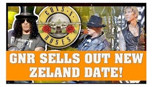 Guns N' Roses New:  New Zealand Show Sells Out Within Minutes