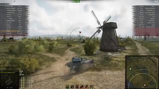 AMX 13 75 Показывает мастер класс по засвету и ур