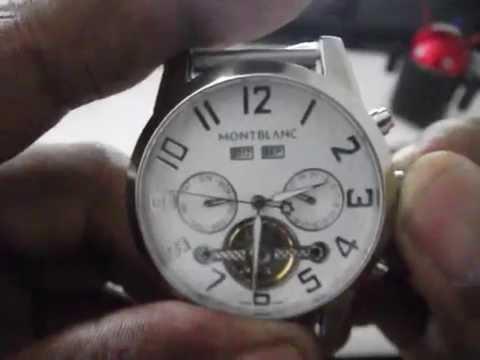 3b9f62f71e1 Relogio Montblanc 9168 Chronograph