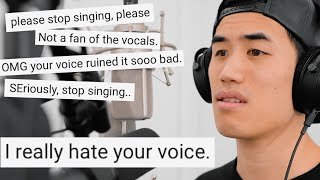 I hate my voice (but I sing anyway)